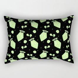 Rogue Potion - Green Rectangular Pillow