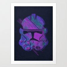 Splash Trooper Art Print