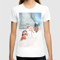 lilo and stitch T-shirts featuring Lilo and Stitch by Walko
