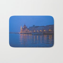 The parliament in Budapest. Bath Mat
