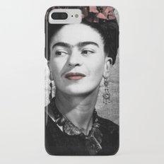 Halftone Frida iPhone 7 Plus Slim Case