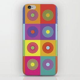 Vinyl Pop Art iPhone Skin