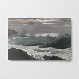 Early Morning After a Storm at Sea Metal Print