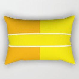 Team Colors 6...yellow,orange Rectangular Pillow