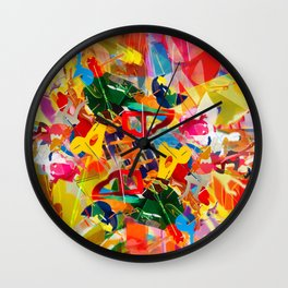 Kaleidoscope Plexi-glass Wall Clock