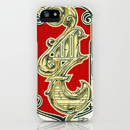 4117 iPhone Case