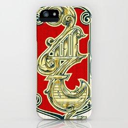 4117 iPhone Case