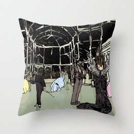 News Years Eve in London Throw Pillow