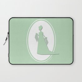 The Historical Fashion Plate Series: Regency Queen Laptop Sleeve