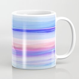 New World Horizon in Shades of Blue, Lilac and Pink Coffee Mug