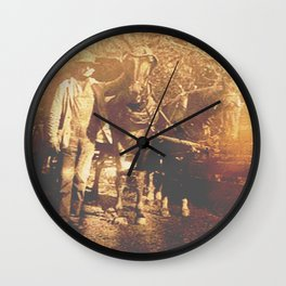 Pine Grove Team Wall Clock