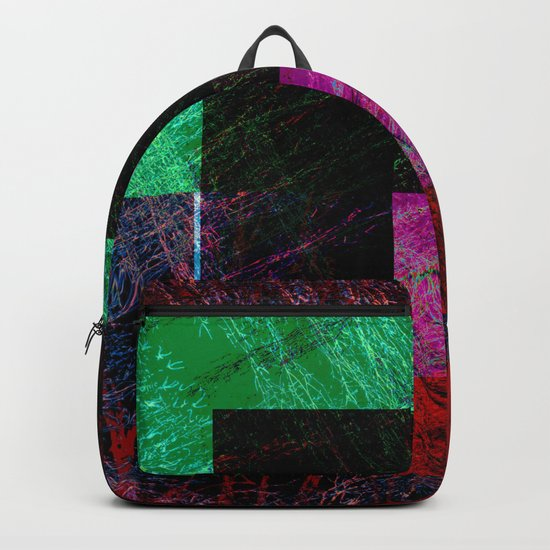 geometric abstract design # ###     ## Backpack