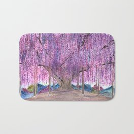 150+ Years Old Wisteria Tree – Sacred Tree Series Bath Mat