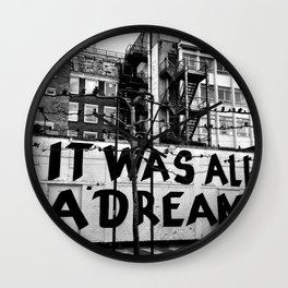 /// reality check Wall Clock