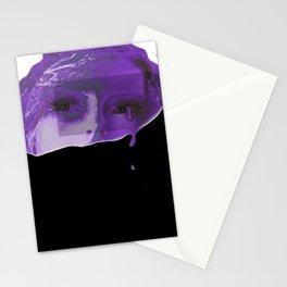 Violet Tears Stationery Cards