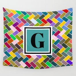 G Monogram Wall Tapestry