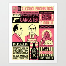 Prohibition Art Print