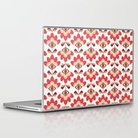 bianca green Laptop & iPad Skins featuring Bianca by Just Kate Designs