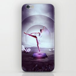 Beyond The Frame iPhone Skin