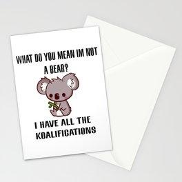 Kowala Bear Stationery Cards