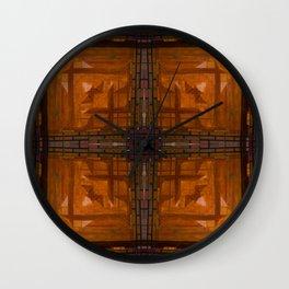 MOROCCAN WOODEN ORNAMENT Wall Clock
