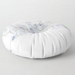Making Waves Floor Pillow