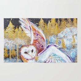 Barn Owls Rug