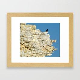 Rosh HaNikra Framed Art Print