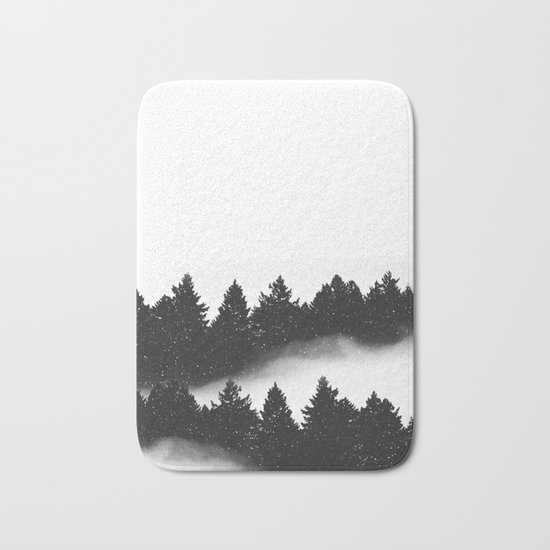 let it snow Bath Mat