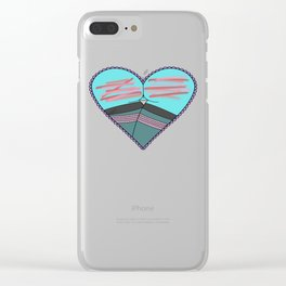 Booty Call Clear iPhone Case