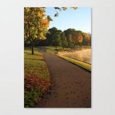 Fall Stroll Canvas Print