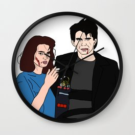 Veronica &JD Wall Clock