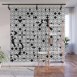 o x o - wb Wall Mural