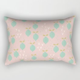 When life gives you lemons you make a pretty print Rectangular Pillow