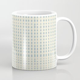 Vintage Gingham Coffee Mug