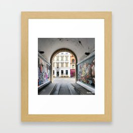 Streetart Framed Art Print