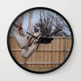 Snowy Pointe Wall Clock