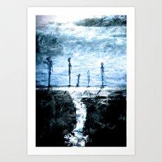 unstableness Art Print