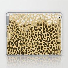 Golden Leopard Laptop & iPad Skin
