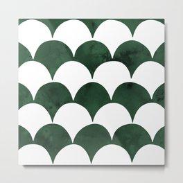 BUMPY - GREEN Metal Print