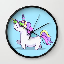 Fabulous Unicorn Wall Clock