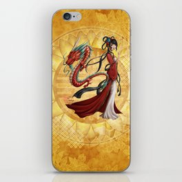Chinese dragon iPhone Skin