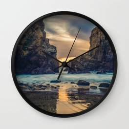 Touch of the Sea Wall Clock