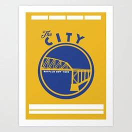 BUFF CITY Art Print
