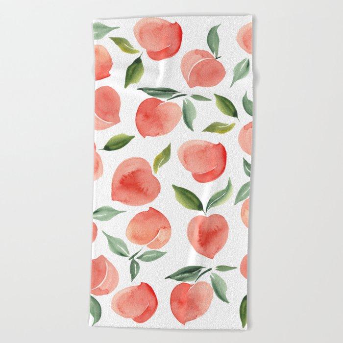 peaches Beach Towel