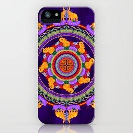 The Lu Mandala; Prosperity & Success iPhone Case