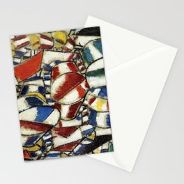 Fernand Leger - Contrast of forms Stationery Cards