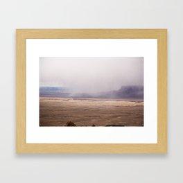 Canyon Edge  Framed Art Print