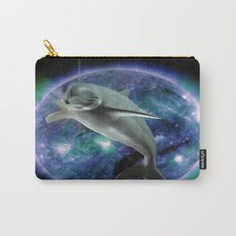 Space dolphin Carry-All Pouch