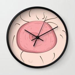 Nippless in Seattle Wall Clock